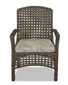 Klaussner Outdoor Outdoor/Patio Amure Dining Chair W1300 DRC - Klaussner Outdoor - Asheboro, NC