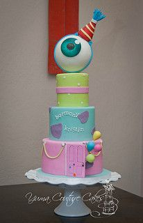 Monster's Inc cake |