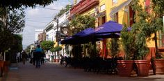 visit Tlaquepaque. It is very clean with the best artist galleries, craft shops, and relaxing restaurants.  Easy to walk around the square for a day outing. Tlaquepaque is a city next to Guadalajara and 30 min from  Chapala