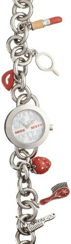 Miss Sixty Sca001 – Reloj para niñas de cuarzo, correa de acero inoxidable color plata | Your #1 Source for Watches and Accessories