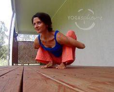 Malasana on the front deck. Nikki taken by Coby Jones » Yoga Pose Weekly