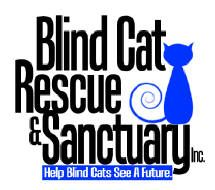 Located in North Carolina, this wonderful organization provides a safe place for blind cats who were deemed unadoptable by regular shelters and were going to be killed just because of their blindness. They also have a 2nd shelter for FEL+  & FIV+ cats who were doomed to be killed just because they tested positive for these viruses.