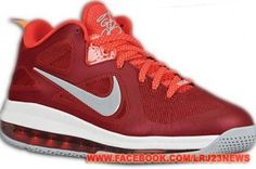 "Nike LeBron 9 Low ""Challenge Red"""