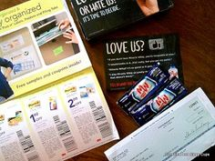 How to fill your mailbox with free samples, coupons, and checks - every day! True story.