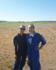 Rachel & Sonjah after jumping out of a perfectly good plane! 5- *13th*, 2017