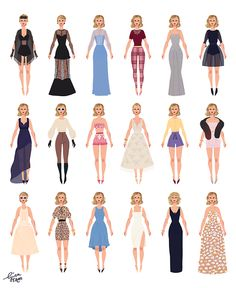 LOVE THE FASHION FROM BLANK SPACE MUSIC VIDEO!