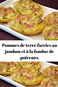 Toddler Meals 96959 Potatoes stuffed with ham and leek fondue - Page 2 - Recipes Of The World Vegan Crockpot Recipes, Meat Recipes, Chicken Recipes, Cooking Recipes, Vegetarian Kids, Vegetarian Meal Prep, Healthy Breakfast Potatoes, Mexican Soup Recipes, Picky Toddler Meals
