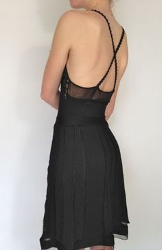 Chanel. Love the back detail