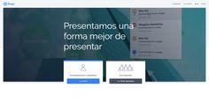 Prezi - herramienta online para presentaciones / vídeos animados