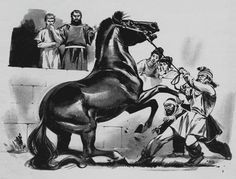 No one could ride Bucephalus. Alexander was told by his father. But the young boy studied the horse carefully. He felt he could tame.