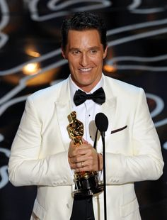 Matthew McConaughey, Best Actor #Oscars