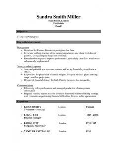 Resume Format 2017 Template Resume Format Resume Format Sample