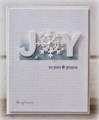Image result for handmade christmas cards using dies