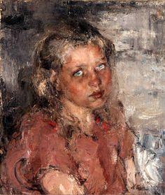 Nicolai Fechin (1881 – 1955, Russian) Young Girl