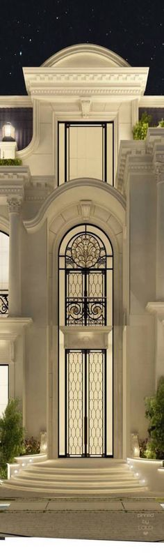 Luxury interior Design Company in Dubai UAE .IONS DESIGN one of the leading interior design Firms with world class designers.provides home designs , commercial retail and office designs Neoclassical Architecture, Classic Architecture, Amazing Architecture, Architecture Details, Interior Architecture, Exterior Design, Interior And Exterior, Classic House, Luxury Homes