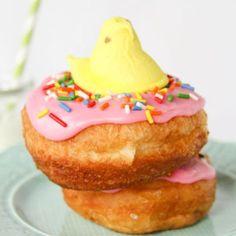 Peeps Easter Doughnuts