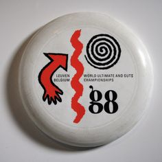 1988 World Ultimate & Guts Championships Wham-O 80 Mould Frisbee