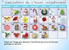 TOUCH cette image: Calendrier de l'Avent collaboratif by brigitte Léonard
