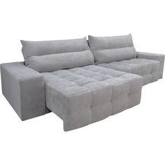 sofa cinza retratil - Pesquisa Google