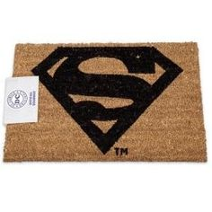 Superman logo door mat Measures x Tough coir pile with non-slip PVC backing Suitable for outdoor or indoor use Great house warming gift official merchandise Batman Costumes, T Shirt Costumes, Superman Logo, Batman And Superman, Superman Cookies, Cool Instagram Pictures, Bath Robes For Women, Coir Doormat, Hulk Marvel