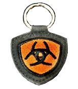Ariat Key Chain with Horseshoes