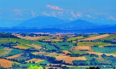 Italy, Marche, Recanati - countryside, Appennino Marchigiano - by Gianni Del Bufalo