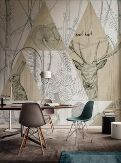 Papier peint WOODLAND Collection Life! 15 by Wall