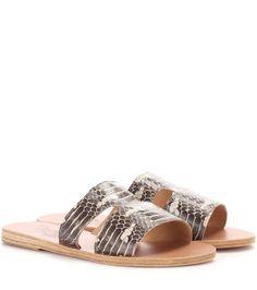 Commandez Mules en serpent Apteros dans une des plus importantes boutiques de mode en ligne.  Livraison rapide. Paiement sécurisé.