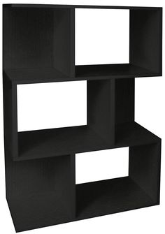 Way Basics Eco Modern Madison Bookcase - Black
