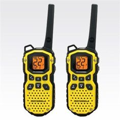 We have of these we use for moving (when we have two cars), trips when we have two cars, and they would be great in emergency when evacuating with yet again, two cars ..... Motorola TALKABOUT MS350R Two Way Radios