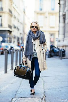 The Classic Trench Coat Outfit