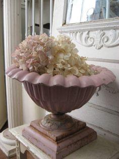 Pink Urn - try Antoinette or Henrietta