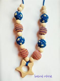 Check out this item in my Etsy shop https://www.etsy.com/listing/467727893/wooden-toy-nursing-necklace-babywearing