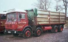 1980 Leyland Octopus Dump Trucks, New Trucks, Old Lorries, Truck Camper, Vintage Trucks, Classic Trucks, Heavy Equipment, Diecast, Britain