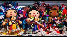 Resultado de imagen para artesanias mexicanas muñecas