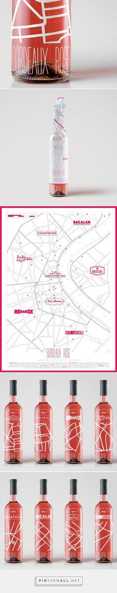 Bordeaux Rosé -Packaging of the World - Creative Package Design Gallery - http://www.packagingoftheworld.com/2016/02/bordeaux-rose.html