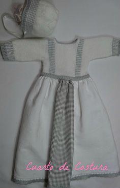 Patrón para cuerpo faldon de damero y rematado by CUARTODECOSTURA