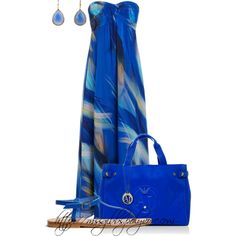 Blue, created by mssgibbs on Polyvore