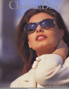 Christian Dior A/W 1994 Model: Gretha Cavazzoni Vintage Dior, Vintage Models, Mode Vintage, Vintage Fashion, Christian Dior, 90s Fashion, Fashion Models, Dior Sunglasses, Sunnies