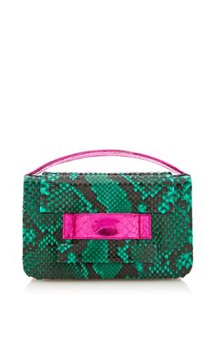 287cb11c3c6e Madison Clutch In Emerald Magenta by METALSKIN for Preorder on Moda  Operandi Pink Clutch