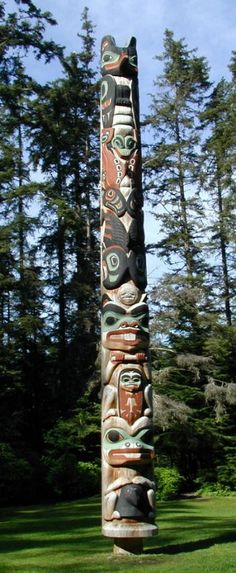 #Tlingit Totem, Sitka     -   http://vacationtravelogue.com We guarantee the best price