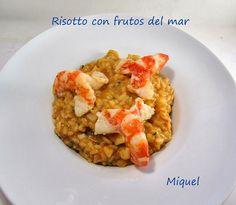 Les receptes del Miquel: Risotto con frutos del Mar