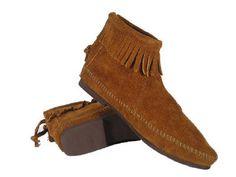 Vintage Boots: Minnetonka Mens Moccasins
