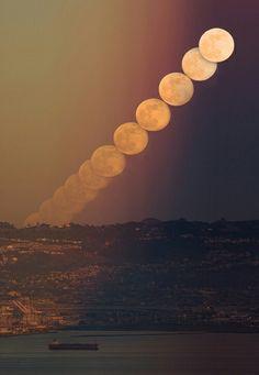 Moon exposure
