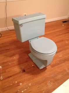 harvest gold toilet seat. Retro Blue Toilet Eljer water closetl Matching Seat 1970s 1960s bathroom old Vintage Mid Century Gold Available  Totally Renovated