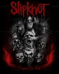 Slipknot+Merchandise+Graphic+by+Jack+Gurecki+on+CreativeAllies.com