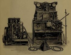 Gasoline-powered X-ray generator (Ephemeral Scraps).