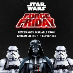 0872f7d2dabd Coming from midnight on September Check back for all the latest Star Wars   The  Force Awakens product reveals!