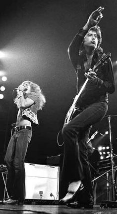 Robert Plant • Jimmy Page Led Zeppelin