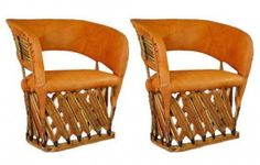Cancun Rustic Patio Equipale Chairs